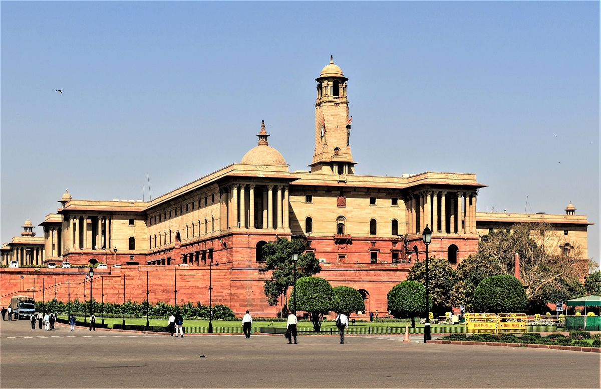 British buildings in Delhi