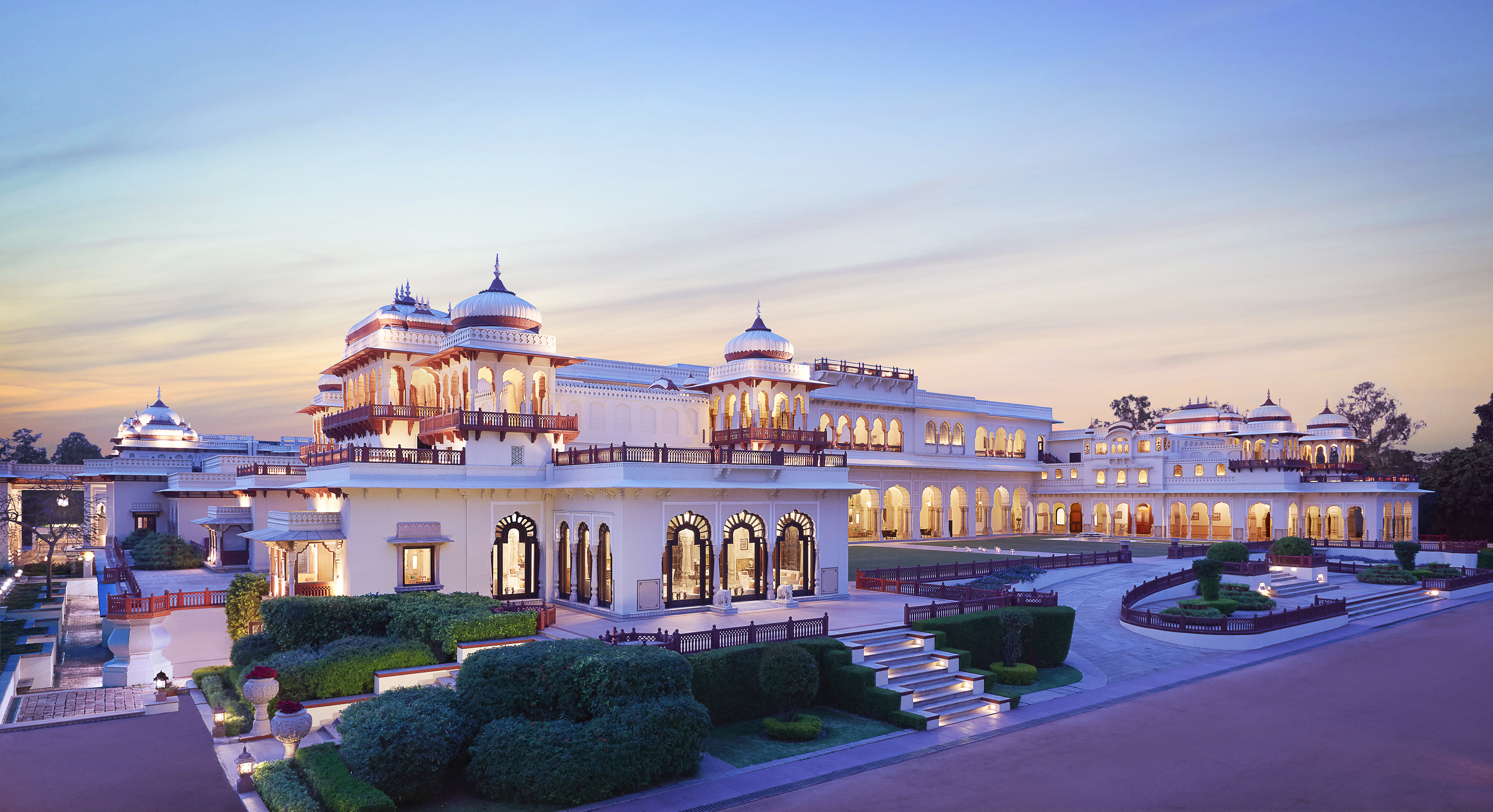 Experience Royal Hospitality at the Taj Palace Hotels in India