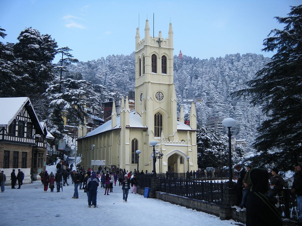 British buildings in Shimla