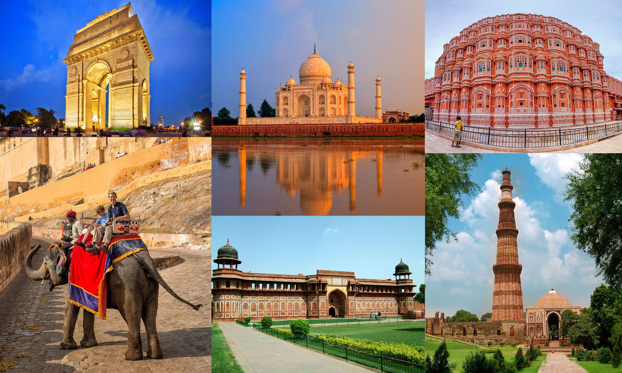 Golden Triangle Tour:  Quintessential Introduction to India