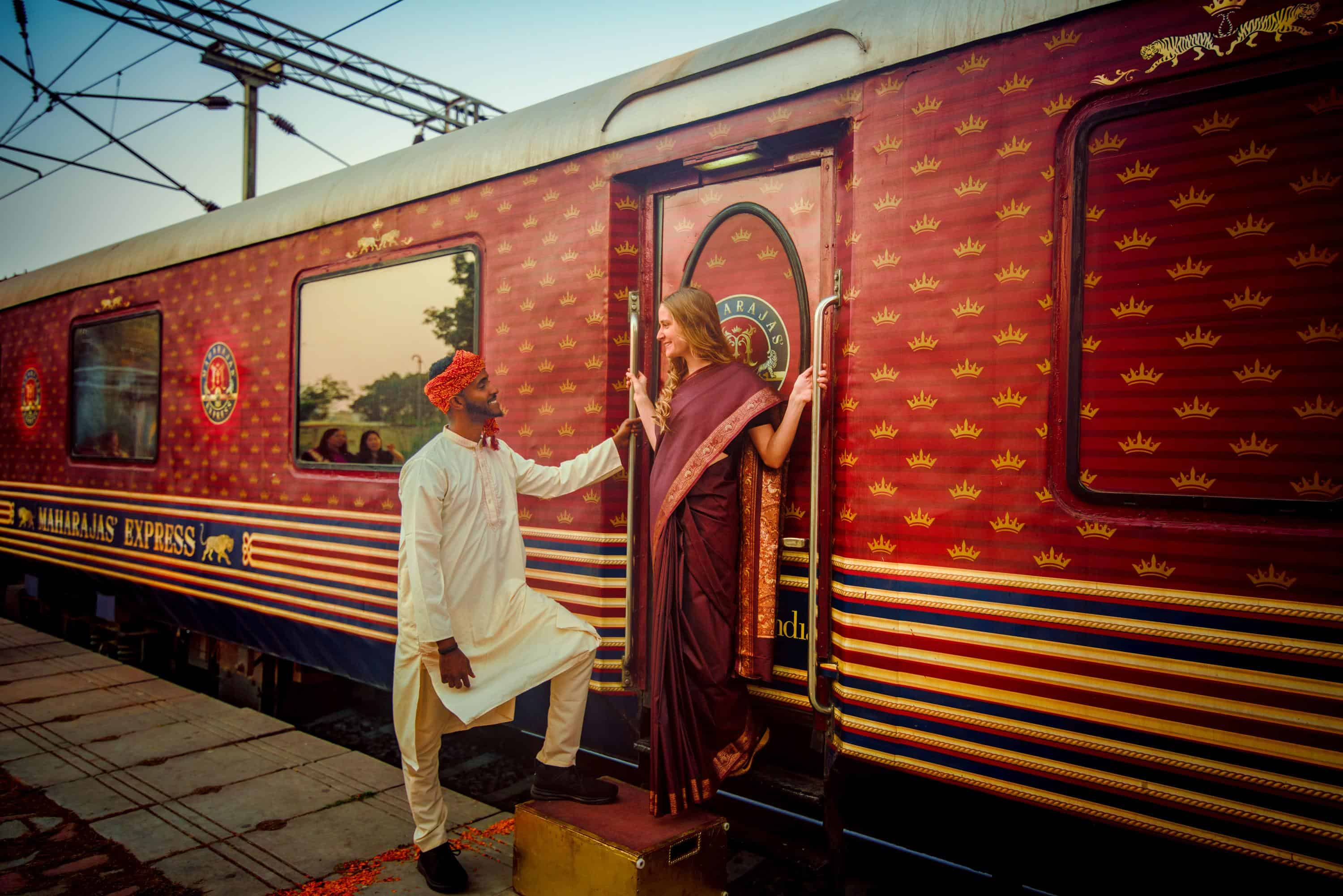 Journey on the World's Leading Luxury Train Maharajas' Express